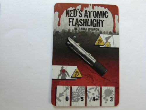 survivor equipment card (neds atomic flashlight)